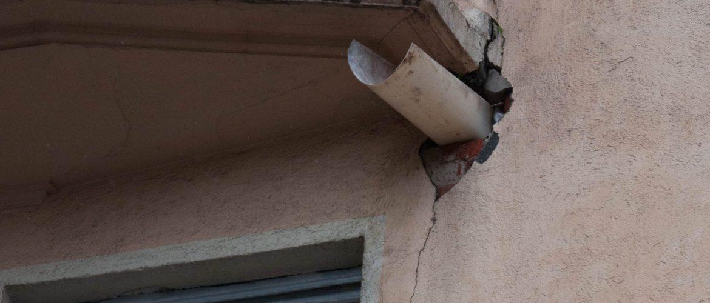 Humedades en fachada